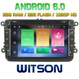Witson Octa-Core (Eight Core) DVD de voiture Android 6.0 pour VW Jetta / Tiguan / Passat 2g ROM 1080P Touch Screen 32 Go ROM