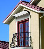 Тент теней окна сопротивления ветра установленный стеной