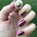 Magic Color Alterando Chameleon cintilante Gel unha pigmento polaco