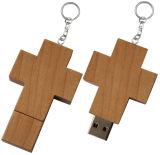 memoria Flash di legno dei regali promozionali del USB 4GB-64GB