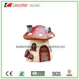 Het nieuwe Standbeeld van het Huis van de Paddestoel van de Tuin van de Fee Miniatuur voor de Decoratie van het Huis en van de Tuin