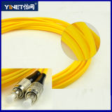 FC / Upc to FC / Upc Simplex Fiber Patch Cord 652D Single Mode