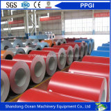 Las bobinas galvanizadas prepintadas respetuosas del medio ambiente/color de las bobinas/PPGI del acero cubrieron bobinas de acero galvanizadas con precio barato y buena calidad