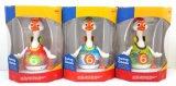 Kind-pädagogisches Schwingen-Gans-Baby-Plastikspielzeug