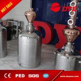 50L/100L/150L/200L autoguident toujours le distillateur d'alcool avec des plaques de fléau d'en cuivre