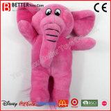 아기 아이를 위한 연약한 채워진 장난감 견면 벨벳 분홍색 코끼리