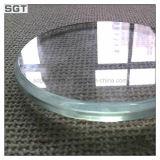 Ultra weißes super freies Glasglas mit Polierrand