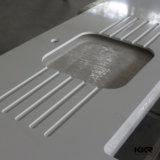 Dessus extérieur solide de vanité de taille faite sur commande d'usine de Kkr