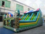 ジャイアントは膨脹可能なスライド、販売のための膨脹可能な子供のスライドを跳ぶ