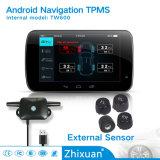 Системы монитора давления автошины навигации DVD TPMS внешних датчиков Android