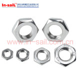 La norme ISO8675 ISO4306 ISO4305 DIN439 hexagonal chanfreiné des écrous fins