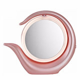 China Supplier Round Double Sides Mirror LED Espelho Cosmético