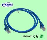 Cable pasajero de la corrección del ftp Cat5e RJ45 de la prueba de la platija