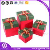 Изготовленный на заказ бумажная коробка подарка для упаковывать косметическую коробку