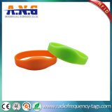 Bracelets sans contact légers de silicones d'IDENTIFICATION RF de bracelets durables