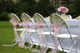 Складной стул пластиковый для свадьбы