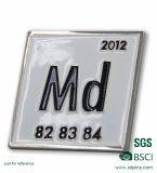 Form-preiswerter Preis mit Metalldecklackpin-Abzeichen
