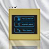 プラスチック輪郭フレーム(SKdB2300SIN2 S)のホテルのドアベルシステム屋内パネル