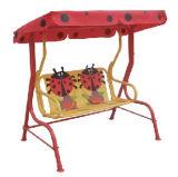 De Schommeling van Bady van de Schommeling van het Stuk speelgoed van de Schommeling van de Tuin van jonge geitjes