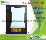 """écran de TFT LCD de 2.4 """" 240X320 Spi, Ili9341V, 14pin pour la position, sonnette, médicale"""
