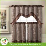 A cozinha da alta qualidade drapeja cortinas modernas da cozinha do país