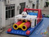 Curso de obstáculo inflable de la venta caliente para los niños