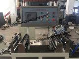 Máquina da inspeção e do rebobinamento da etiqueta da luva