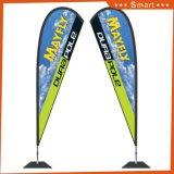 Heiße Verkäufer-Fiberglas-Pole-Fliegen-Fahne, Feder-Markierungsfahne