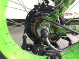 リチウムイオン電池MTB Bicicletta Elettricaが付いている脂肪質の電気バイクを折る20インチ