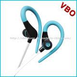 Écouteurs et écouteurs bleus rougeoyants de fantaisie Earhook de vente chaude