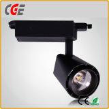 Il fornitore professionista di Lightinng della pista di vendita calda fornisce l'indicatore luminoso PAR30 LED del punto di illuminazione LED dell'indicatore luminoso LED della pista del LED giù si illumina