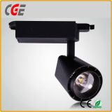 Il fornitore di Lightinng della pista fornisce gli indicatori luminosi del punto degli indicatori luminosi AC85-265V PAR30 LED della pista del LED