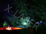 Rote u. grüne Weihnachtslichter mit Station-- Innen- u. im Freien wasserdichtem Laserlicht-Projektor