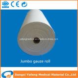 Alimentación directamente de fábrica Ce & ISO aprobado 19X15 de gasa absorbente quirúrgico en el Jumbo Roll