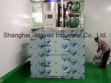 Máquina de gelo em flocos de água do mar e refrigerada a ar no navio