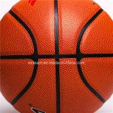 Tamaño 7 5 Oficial cuero de la PU del partido de baloncesto