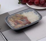 Einfache Mahlzeit-Behälter stapelbare PlastikMicrowavable Spülmaschine-sicheres mehrfachverwendbares