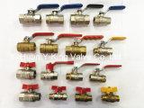 Guarnición española de la compresión de cobre amarillo del codo de la cuerda de rosca femenina (YD-6045)