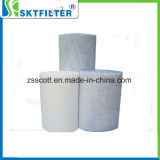 Venta caliente fibra sintética de cortar el material del filtro de aire en la pieza