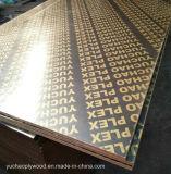 Film face contre-plaqué pour la construction de coffrage de béton