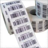 Serviço personalizado de impressão de códigos de barras Self-Adhesive etiqueta de papel autocolante de impressão