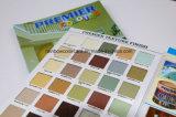 Tarjeta especial de papel de color de textura para el anuncio