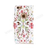 крышка кожи протектора карточки случая бумажника iPhone 7 преграждая Handmade