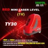 Мини-красный один вертикальный лазерная линия лазерного уровня Danpon Ty30