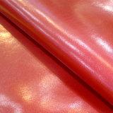 Glanzende Microfiber voor Schoenen hw-934 van de Jonge geitjes van Handtassen