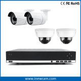 Piccolo CCTV Poe NVR della rete del negozio H. 264 4CH 4MP