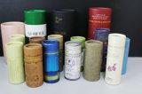 Il contenitore di regalo di carta di lusso personalizzato del tubo con il marchio ha stampato