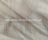 Tela de estiramento reflectora de prata com perfuração com visibilidade elevada com furos