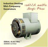 Generatore monofase di CA 120kVA 440Hz (alternatore) per l'apparecchio di riscaldamento induttivo