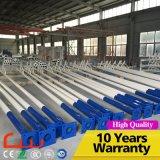 7m ISO9001 Pôle léger extérieur en acier